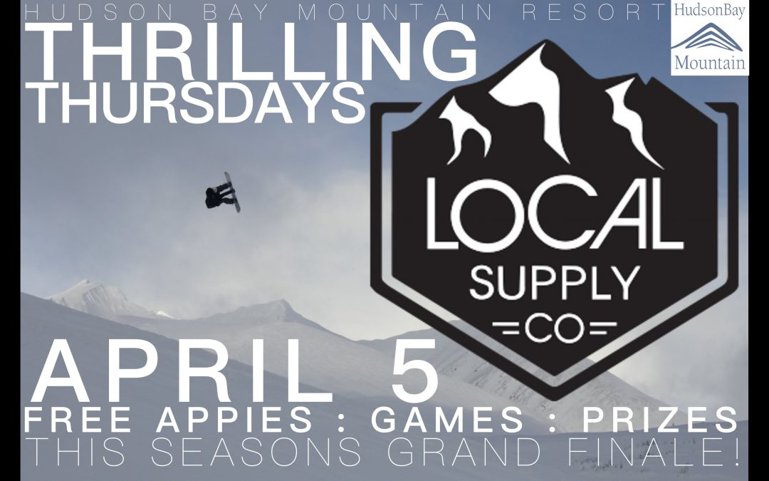 Local Supply Co Thrilling Thursday