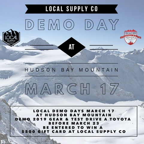 Demo Day by Local Supply Co. on 17th Mar
